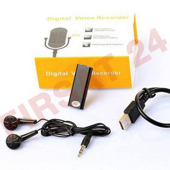 Mini Gizli Ses Kayıt Cihazı