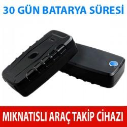 Mıknatıslı Araç Takip Cihazı X009