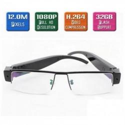 Full HD Optik Lensli Gözlük Kamera