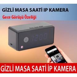 Wifi Gizli Kamera - Masa Saati