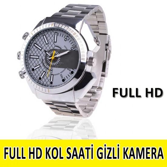 1080P Gece Görüşlü Kol Gizli Saati Kamera