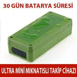 Ultra Mini Mıknatıslı Araç Takip Cihazı