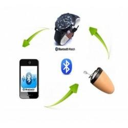 Mikro Kulaklık ve Bluetooth Saat Seti