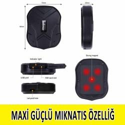 Mini Mıknatıslı Araç Takip Cihazı