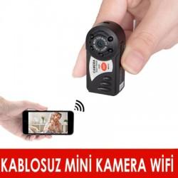 Kablosuz Mini Q7 Kamera (Wifi)