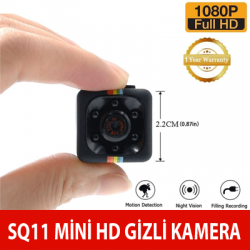 SQ11 Mini Full Gizli Kamera