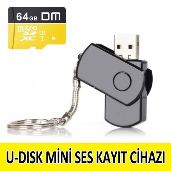 U-Disk Ses Kayıt Cihazı