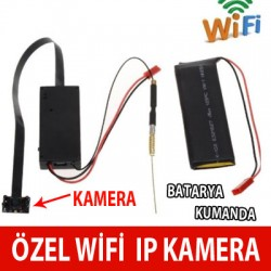 Wifi ip Gizli Kamera