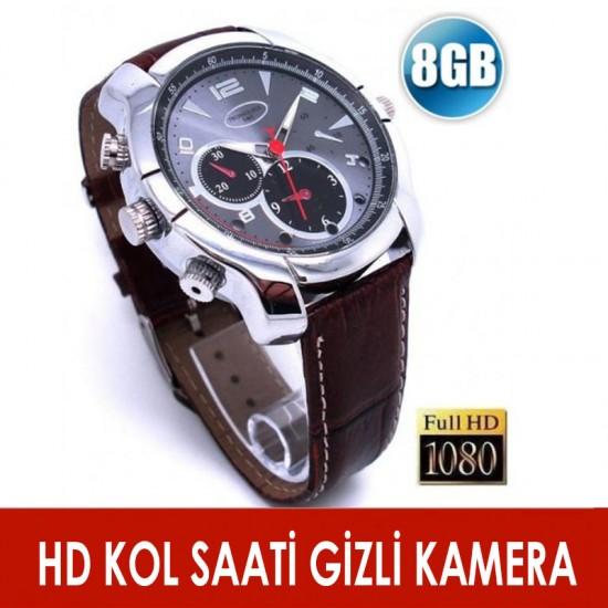 Gece Görüşlü HD Kol Saati Kamera 1080P