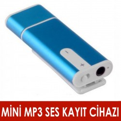 Mini Mp3 Ses Kayıt Cihazı