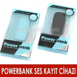 PowerBank Ses Kayıt Cihazı