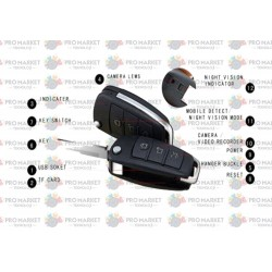 1080P Anahtarlık Gizli Kamera